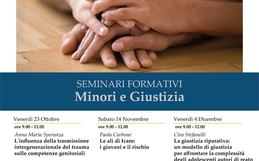 Minori e giustizia. Seminari formativi