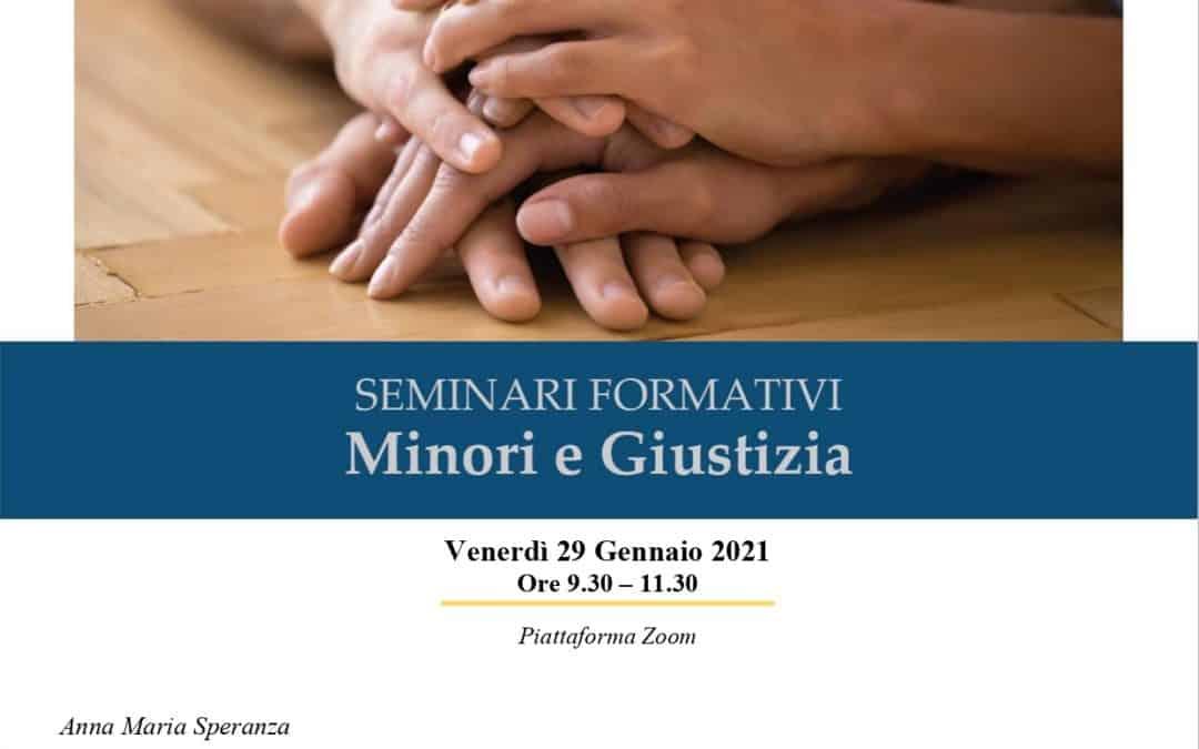 Minori e Giustizia. Seminari formativi. Trasmissione intergenerazionale del trauma e competenze genitoriali.