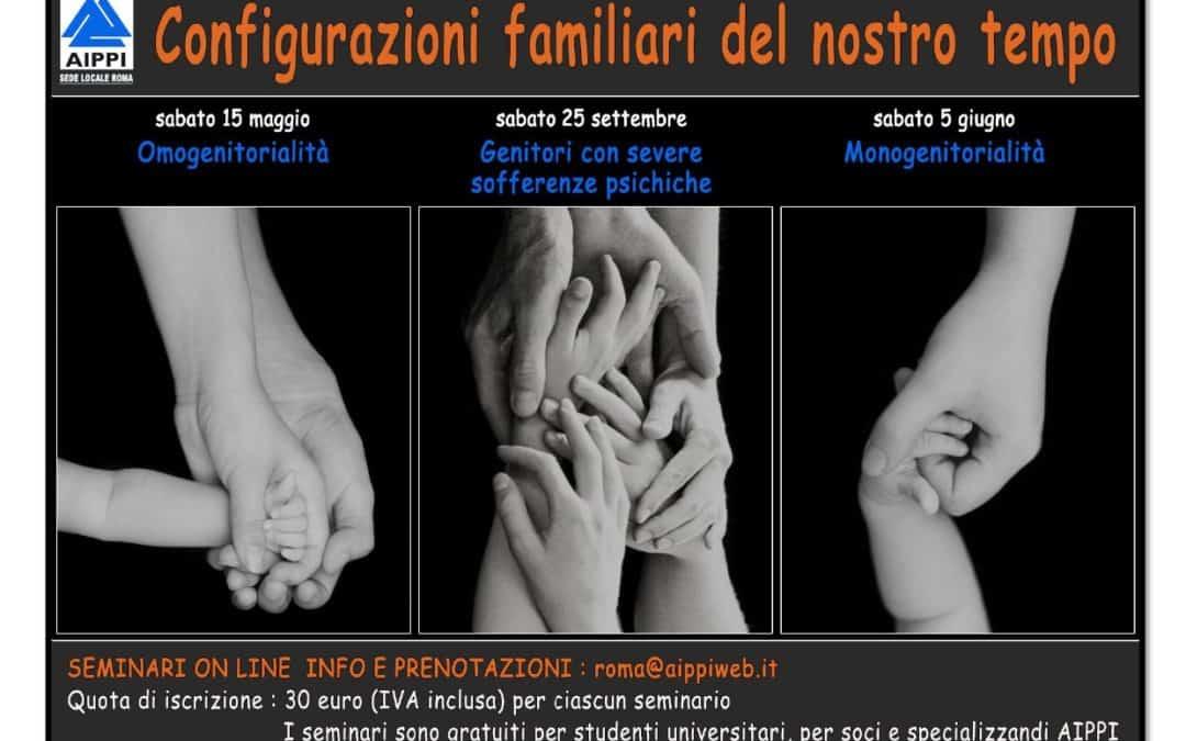 Configurazioni familiari del nostro tempo: Genitori con severe sofferenze psichiche