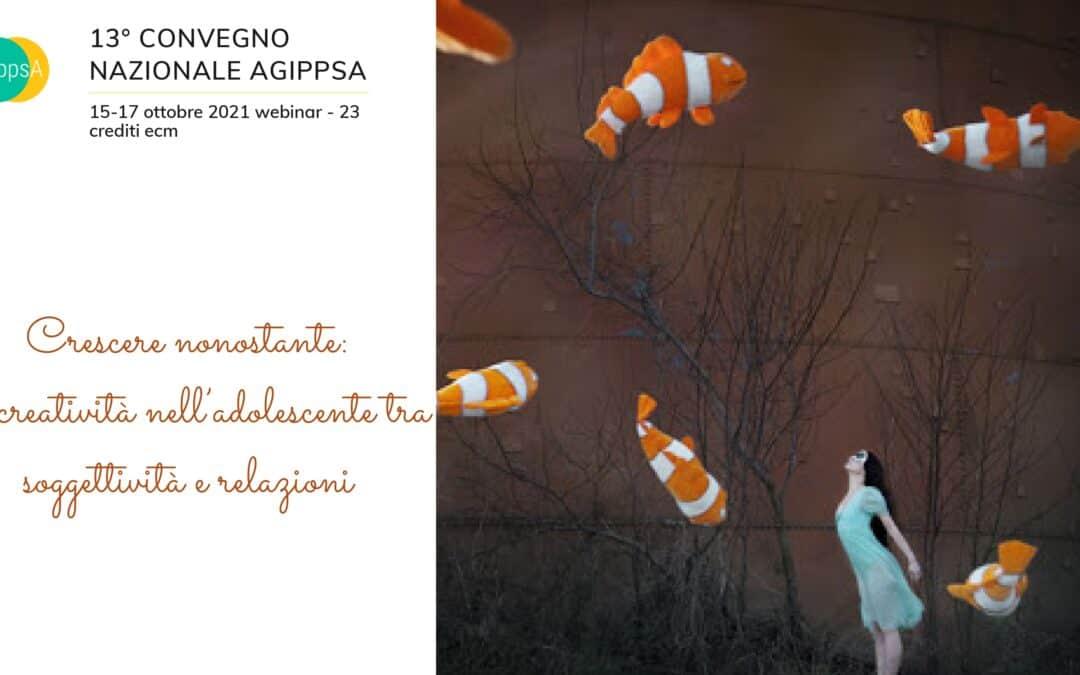 XIII Convegno Nazionale AGIPPsA, webinar